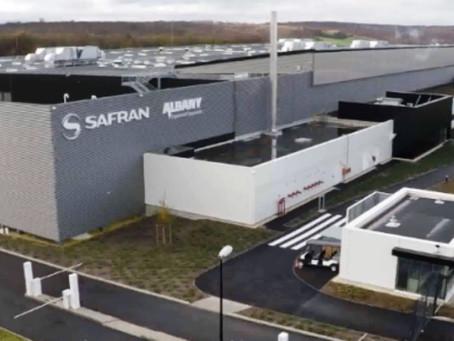 Inauguration de l'usine de SAFRAN AÉRO COMPOSITE & ALBANY ENGINEERED COMPOSITES à Commercy (55)