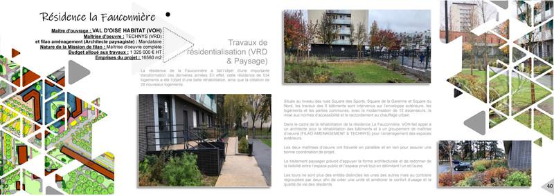 Résidentialisation - Résidence la Fauconnière à Gonesse (95)