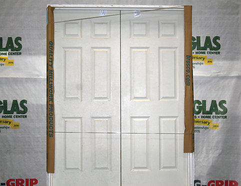 Brosco 5-0/6-8 6 Panel Double Door - EC6-E