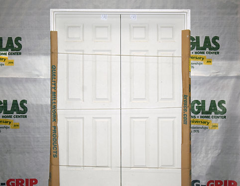 Brosco 5-0/6-8 6 Panel Double Door - EC6-D