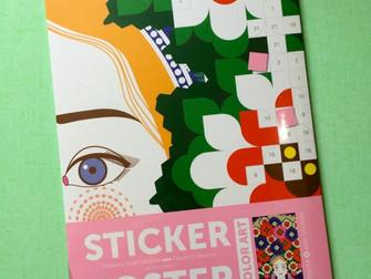 Reçu ce matin ! Ma pochette Poppik avec tous ses stickers colorés !