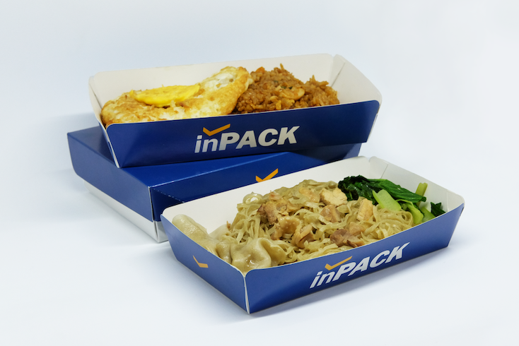 Kemasan Makanan Food Grade Packaging Paper Food Tray