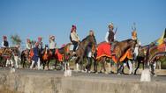 Procession Horses
