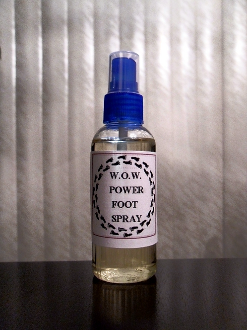 """""""W.O.W. Power"""" Foot Spray © 2oz."""
