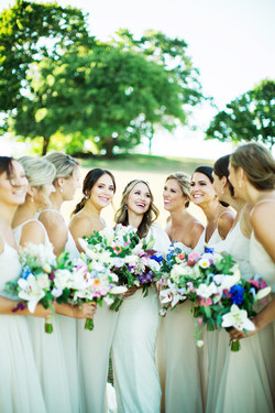 July Bride & Bridesmaids