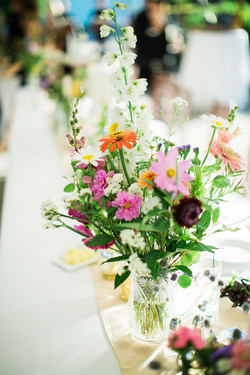 """Garden"" Table Arrangement"