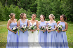 June Bride & Bridesmaids
