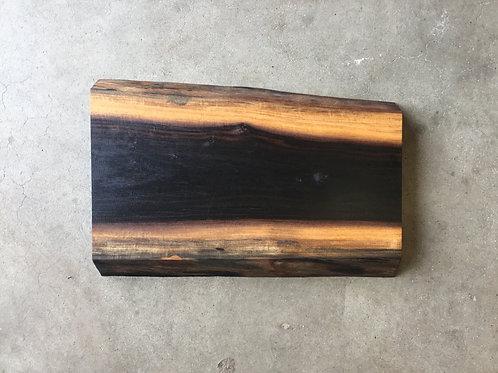 Skærebræt af african blackwood
