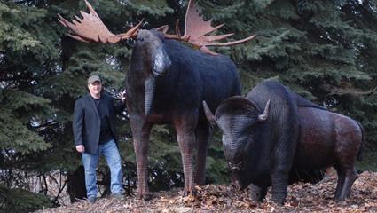 Wildlife Sculptures