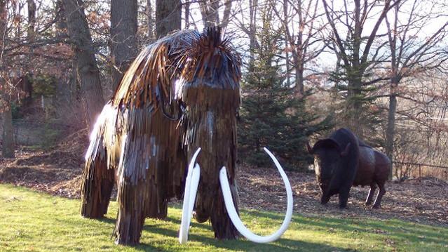 Mammoth Sculpture