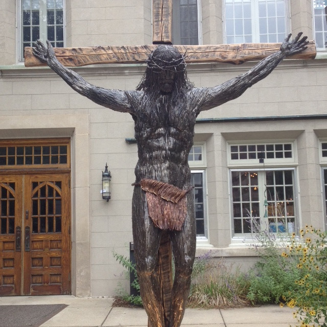 Crucifix Sculpture