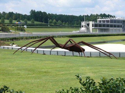 Giant Spider Sculpture