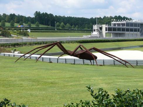 Giant Spider Sculpture