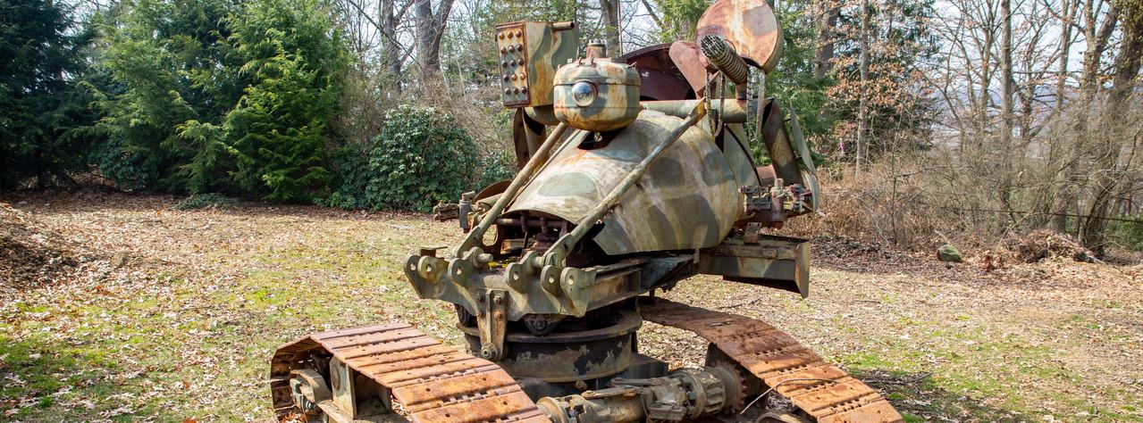 Tank Sculpture