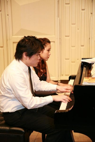 Duet concert with Cecilia Tsang