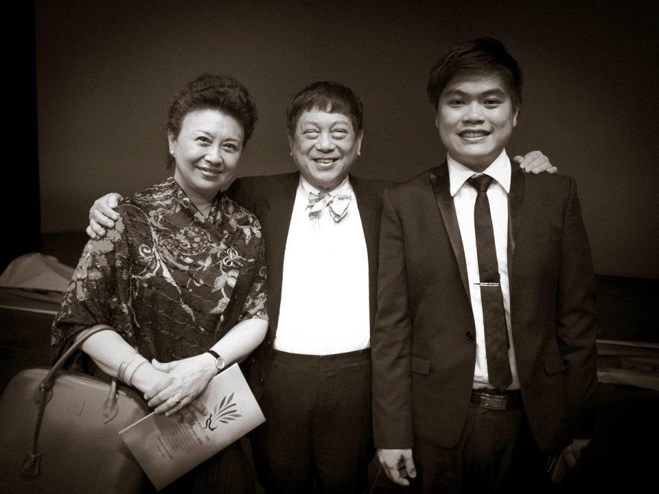After concert with Mr Lo and Ms Lo
