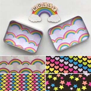 Rainbow Tins