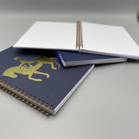 Dressage A5 lined notebooks