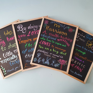Teacher Thankyou Chalkboard