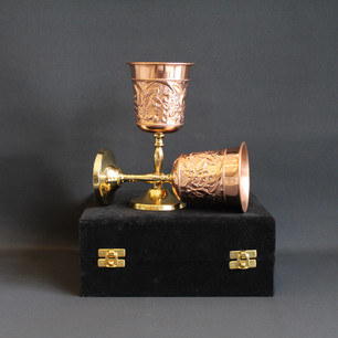 Engraved Wine Glass Set