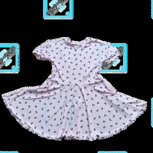 Bella Pink Bows Dress