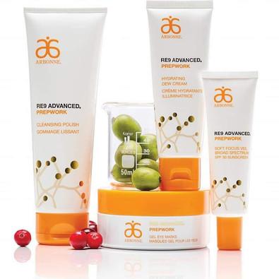 RE9 Prepwork Advanced Hydrating Skincare Range