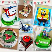 Childrens cakes...