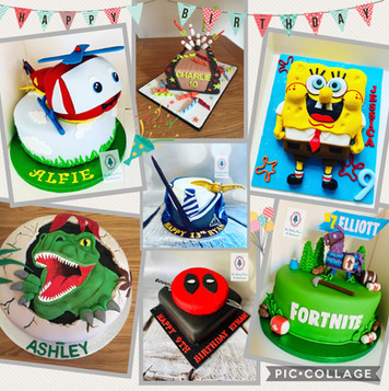 Childrens cakes...