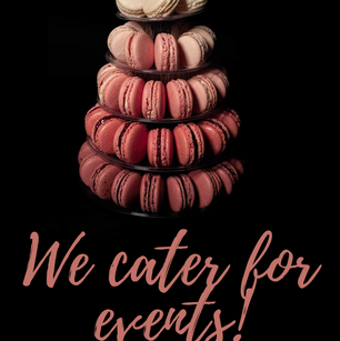 We cater for events