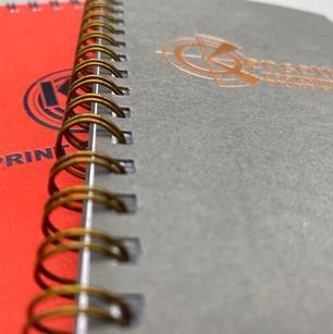 Bespoke notebooks