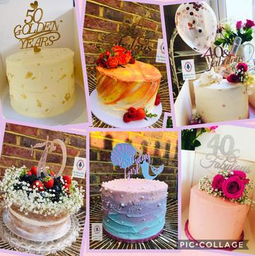 Buttercream cakes...