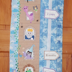Castle Themed Growth Chart