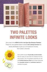 Two Eyeshadow Paletts, Infinite Looks