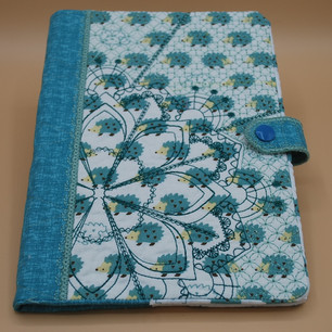 Embroidered Book Covers - Mandela Style