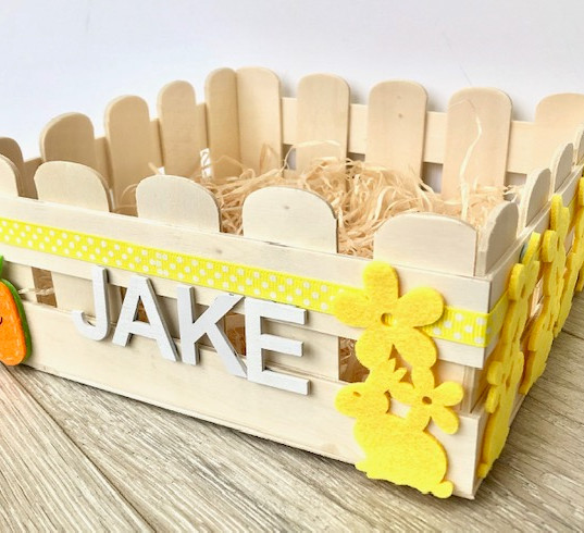 Easter crate felt