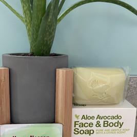 Aloe and Avocado Soap