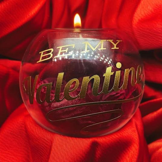 valentine tealight