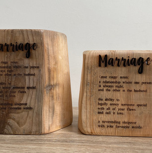 Marriage candle