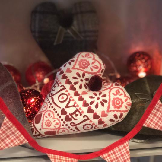 Emma Bridgewater Lavender Heart