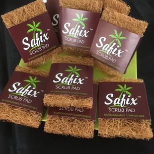 Safix scrub pads