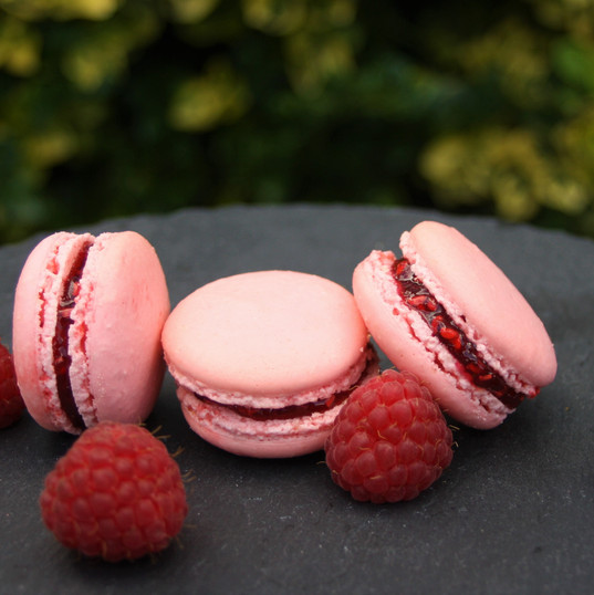 Our raspberry macarons