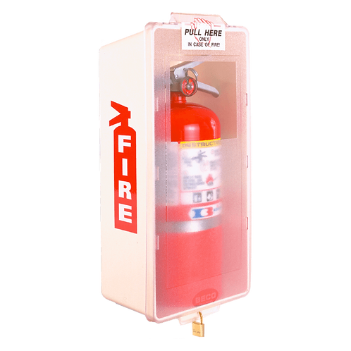 Mark Series Fire Extinguisher Cabinet - Red