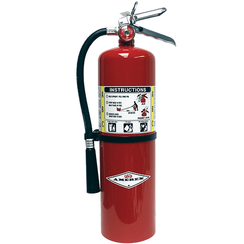 10 lb Amerex ABC Multi-Purpose Extinguisher