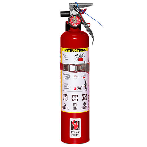 2.5 lb. ABC Strike First Fire Extinguisher 1A:10B:C