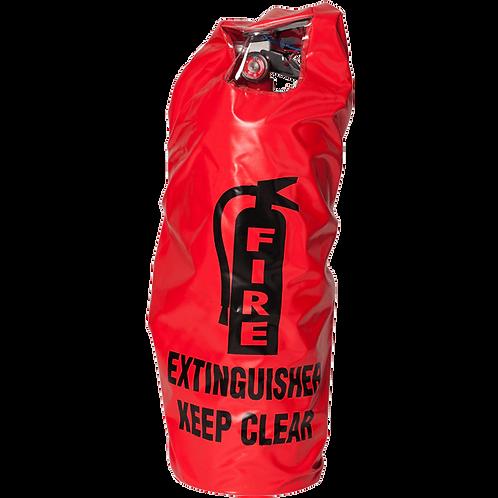Elastic Back Extinguisher Cover, English, Window