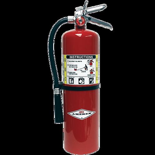 10lb Amerex ABC Extinguisher 4A:80BC w/ wall hook