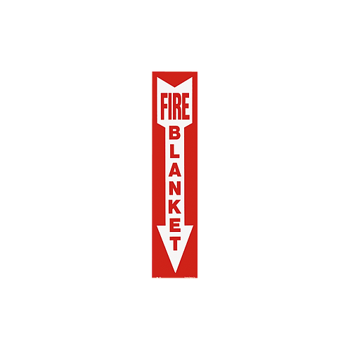 """Fire Blanket"" Arrow, 4"" x 18"""