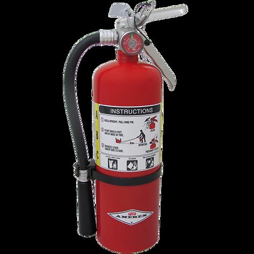 5 lb Amerex ABC Multi-Purpose Fire Extinguisher 3A40BC