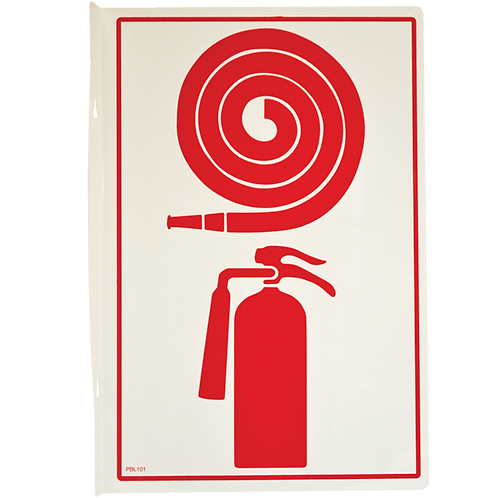 Fire Hose and Extinguisher Pictogram