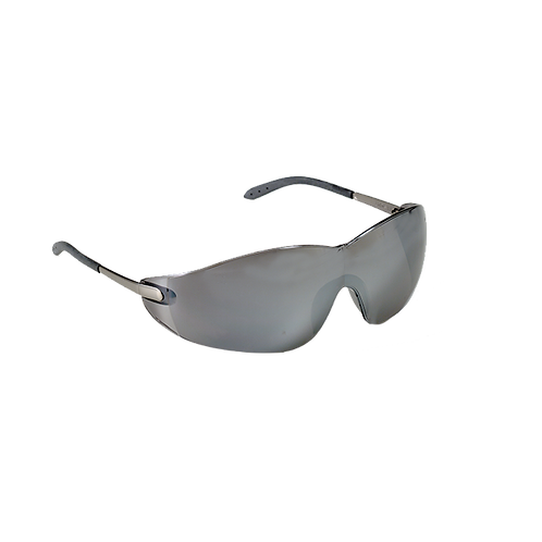 Blackjack Safety Glasses, Silver Mirror Lens